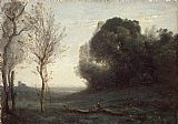 Jean-Baptiste-Camille Corot Morning painting