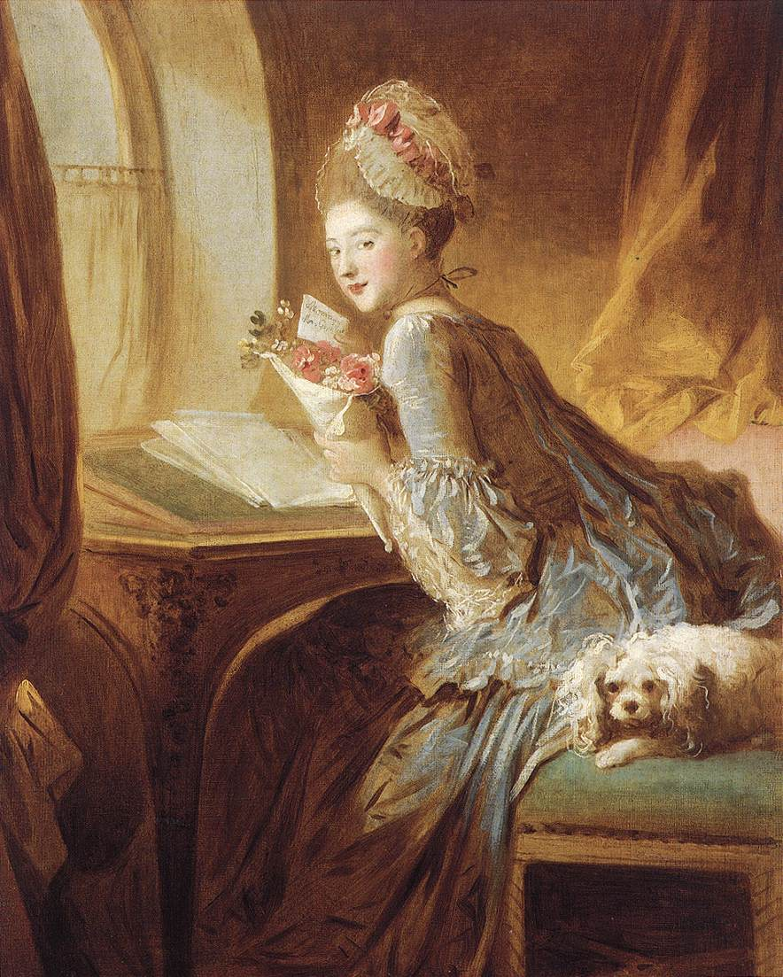 Jean-Honore Fragonard The Love Letter