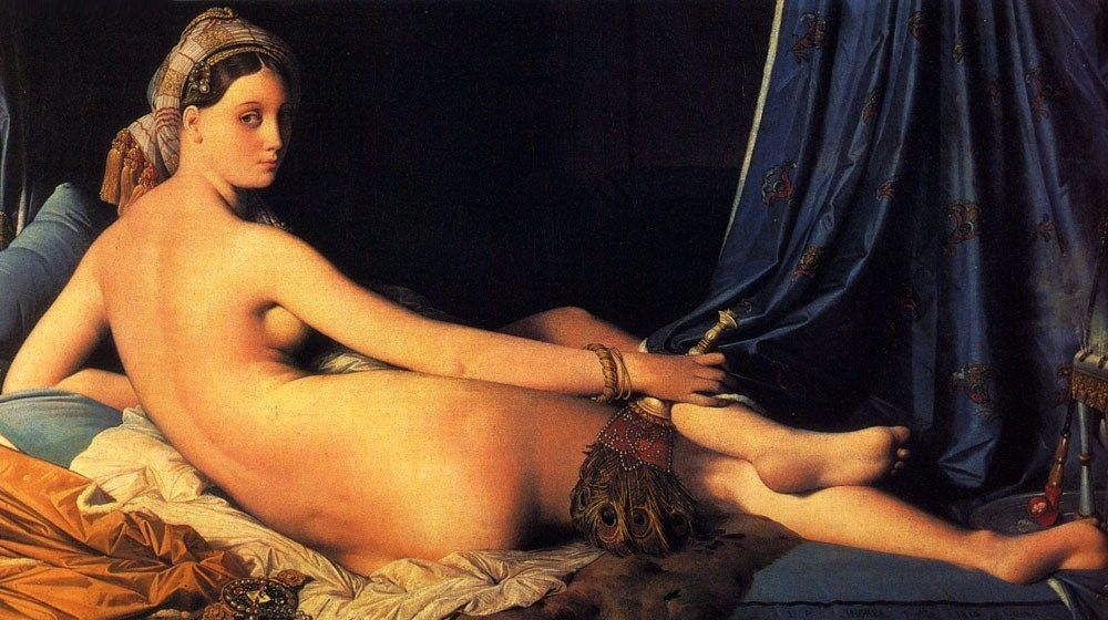 Jean Auguste Dominique Ingres The Grande Odalisque