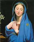 Jean Auguste Dominique Ingres Virgin of the Adoption painting