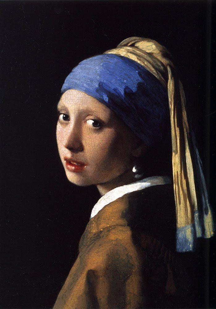 Vermeer paintings johannes vermeer girl with the pearl earring