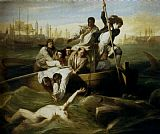 John Singleton Copley Brook Watson And The Shark painting