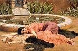 John William Godward Dolce far niente painting