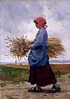 Julien Dupre Returning From the Fields painting