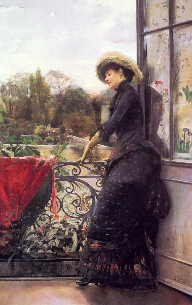 Julius LeBlanc Stewart On The Terrace