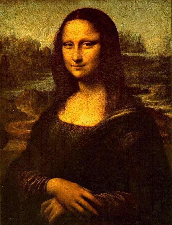 Leonardo da Vinci Mona Lisa Smile Painting