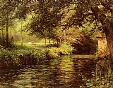 Louis Aston Knight A Sunny Morning At Beaumont-Le-Roger painting