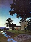 Maxfield Parrish Twilight painting