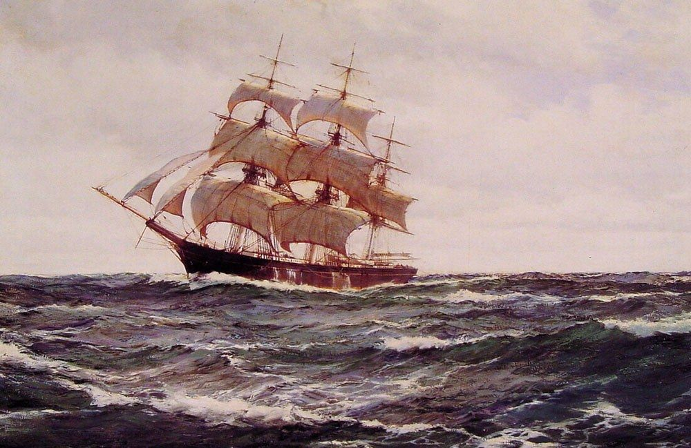 Montague Dawson The Glorious Sea