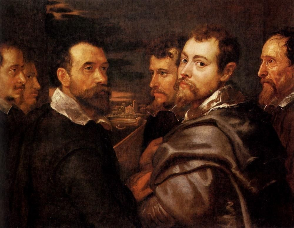 Peter Paul Rubens The Mantuan Circle Of Friends