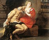 Peter Paul Rubens Cimon and Pero painting