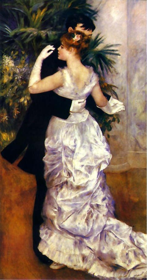 Pierre Auguste Renoir Dance in the City