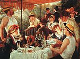 Pierre Auguste Renoir The Boating Party Lunch painting