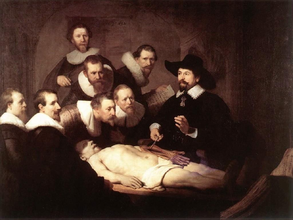 Rembrandt The Anatomy Lecture of Dr Tulp