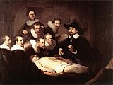 Rembrandt The Anatomy Lecture of Dr Tulp painting