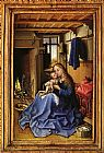 Robert Campin Virgin and Child in an Interior painting