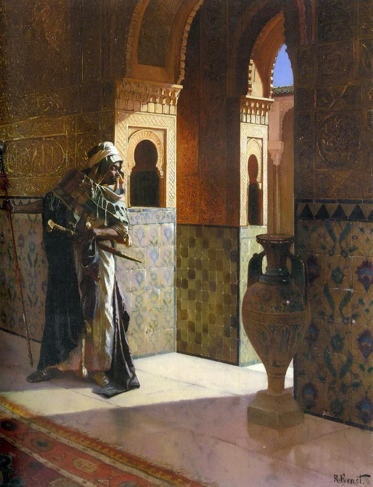 Rudolf Ernst The Moorish Guard