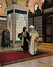 Rudolf Ernst After Prayer painting