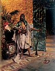Rudolf Ernst Harem Guard painting