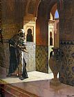 Rudolf Ernst The Moorish Guard painting