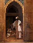 Rudolf Ernst The Palace Guard painting