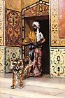 Rudolf Ernst The Pasha's Favourite Tiger painting