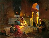 Rudolf Ernst The Perfume Maker painting