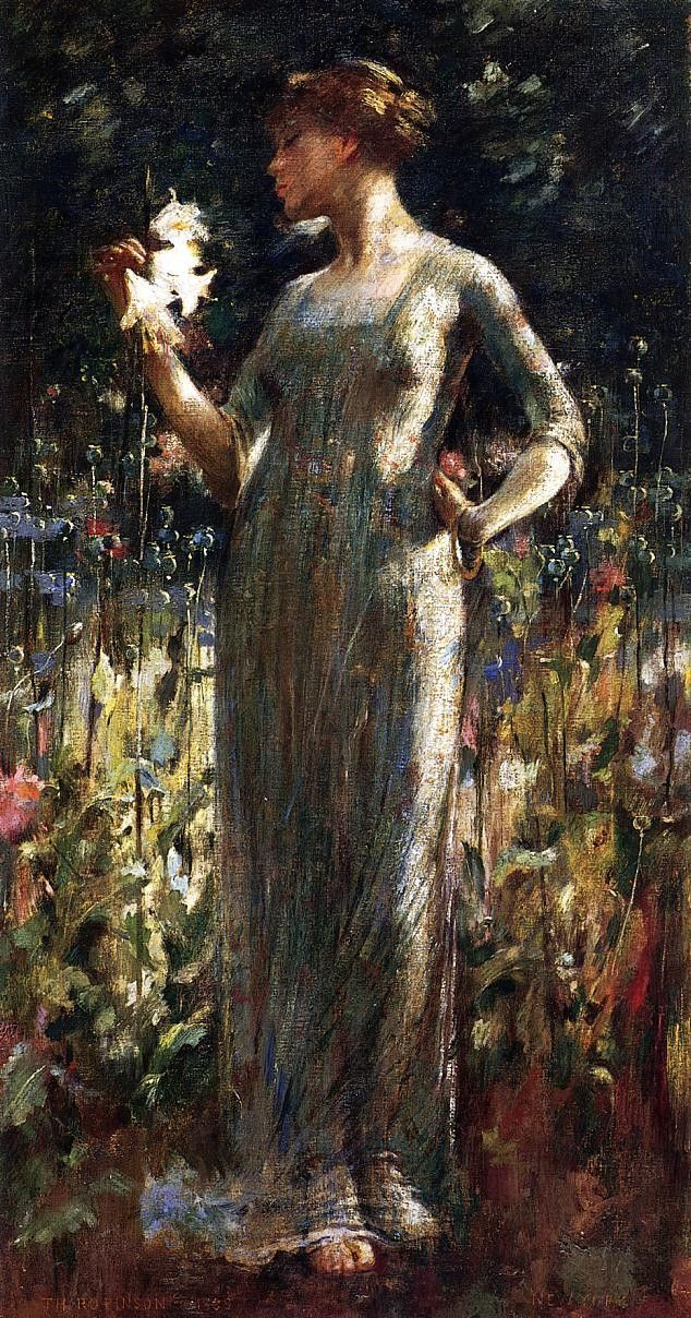 Theodore Robinson A King's Daughter