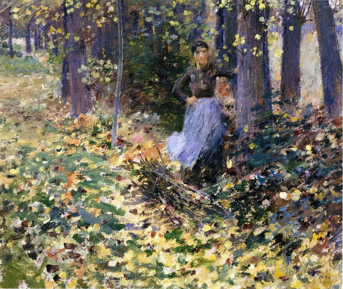 Theodore Robinson Autumn Sunlight