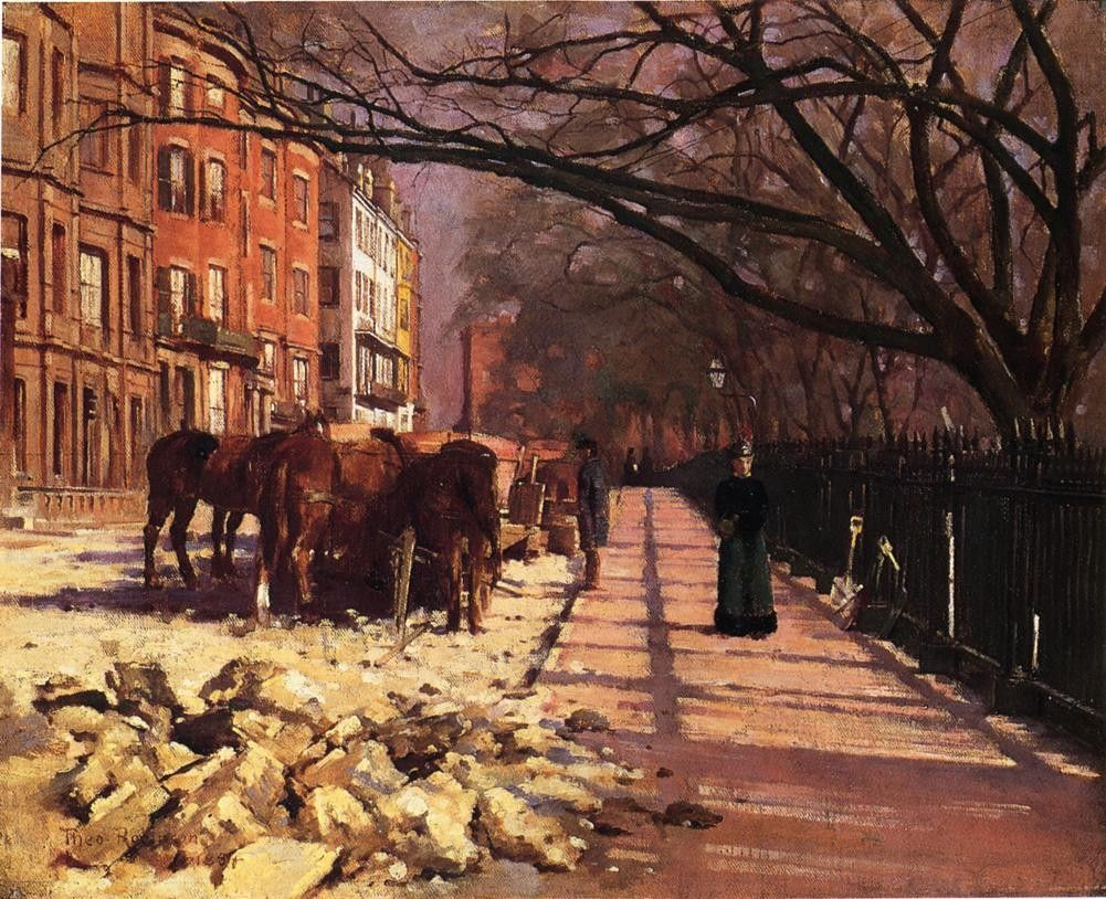 Theodore Robinson Beacon Street Boston