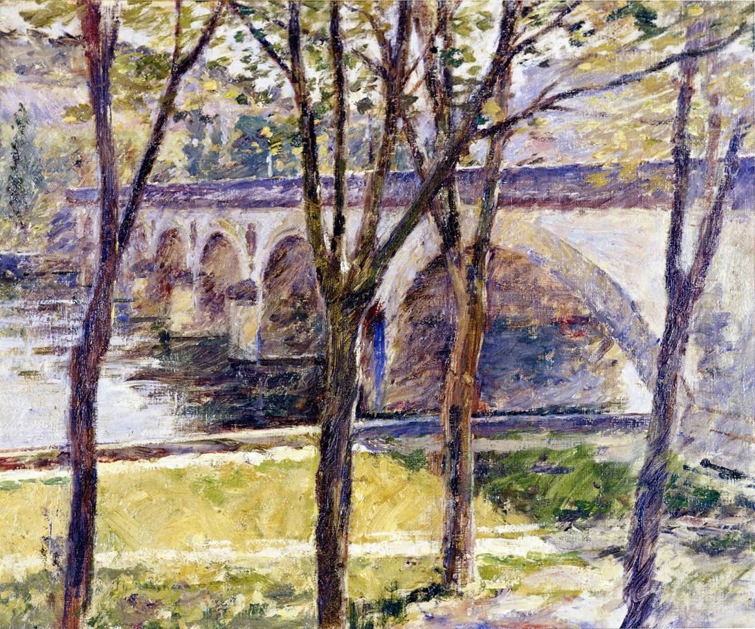 Theodore Robinson Bridge near Giverny