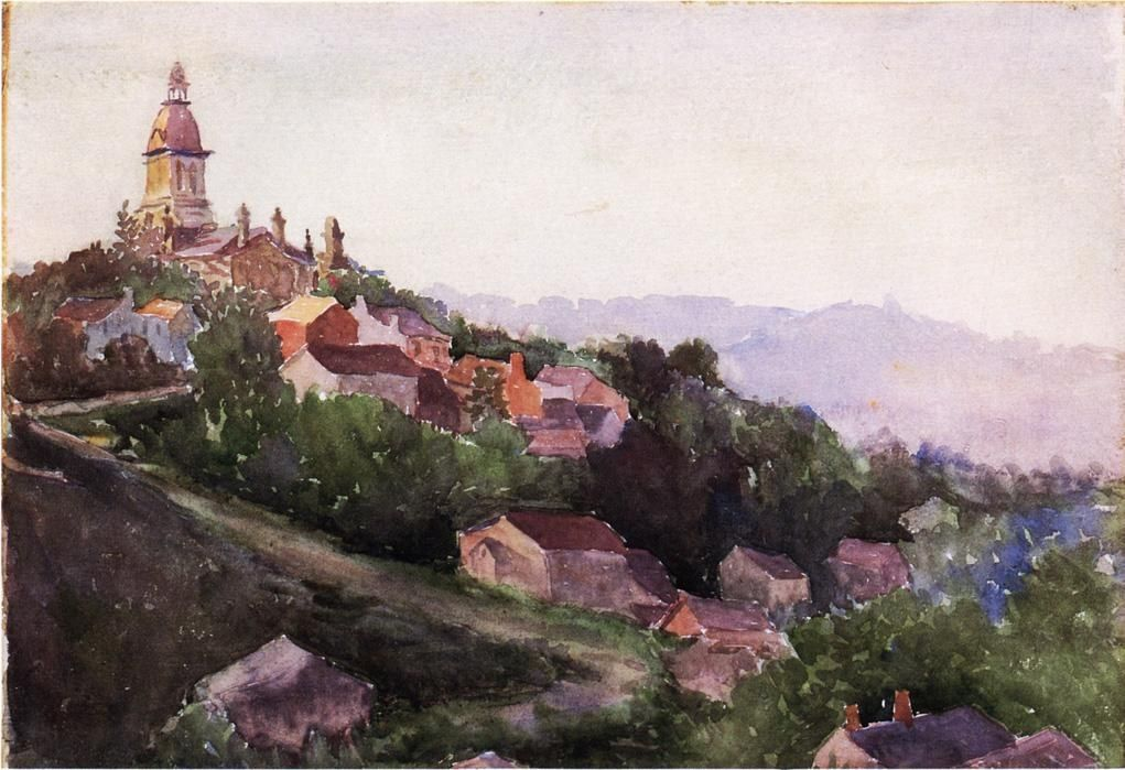 Theodore Robinson Houses in France