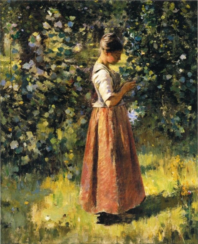 Theodore Robinson In the Grove