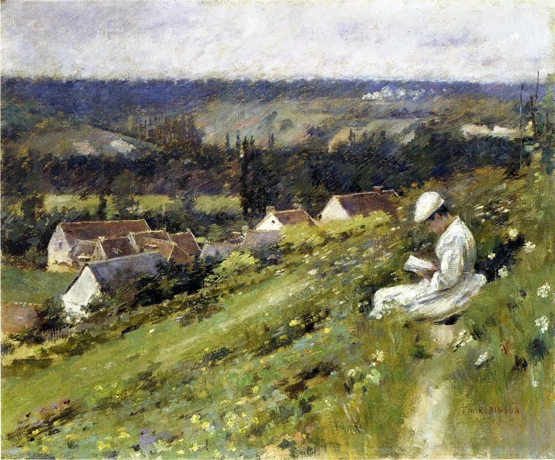 Theodore Robinson Val d'Arconville