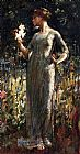 Theodore Robinson A King's Daughter painting