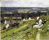 Theodore Robinson Val d'Arconville painting
