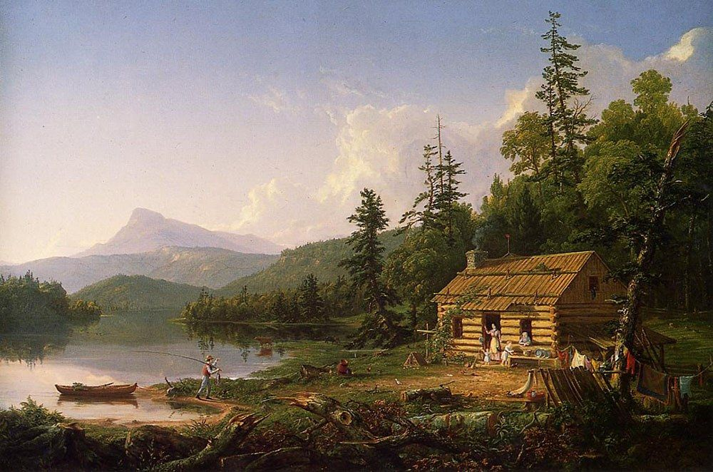 Thomas Cole Home in the Woods