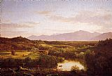 Thomas Cole River in the Catskills painting