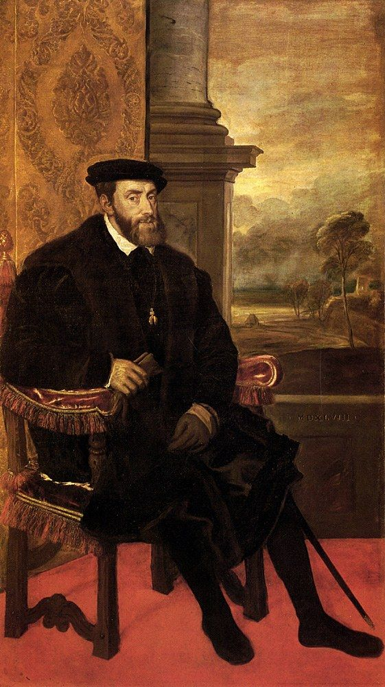 Titian Emperor Charles
