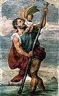 Titian Saint Christopher painting