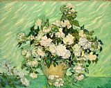 Vincent van Gogh Roses painting