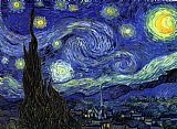 Vincent van Gogh The Starry Night painting