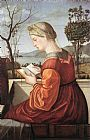 Vittore Carpaccio The Virgin Reading painting