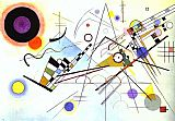 Abstract paintings - Composition VIII by Wassily Kandinsky