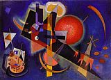 Wassily Kandinsky In Blue painting
