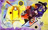 Abstract paintings - Yellow Red Blue by Wassily Kandinsky