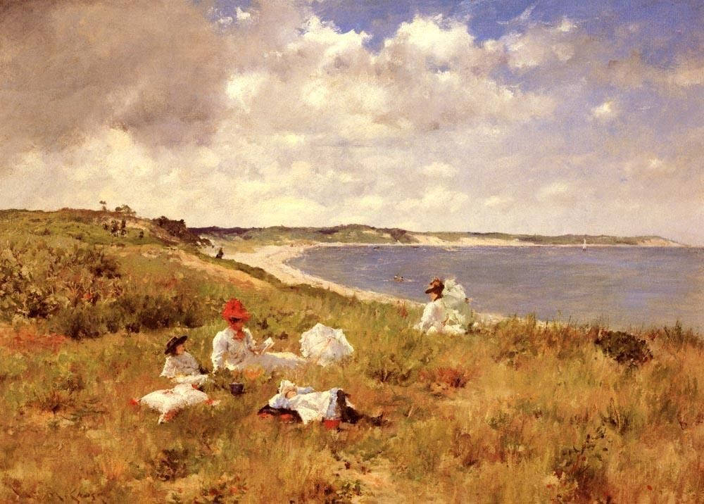 William Merritt Chase Idle Hours