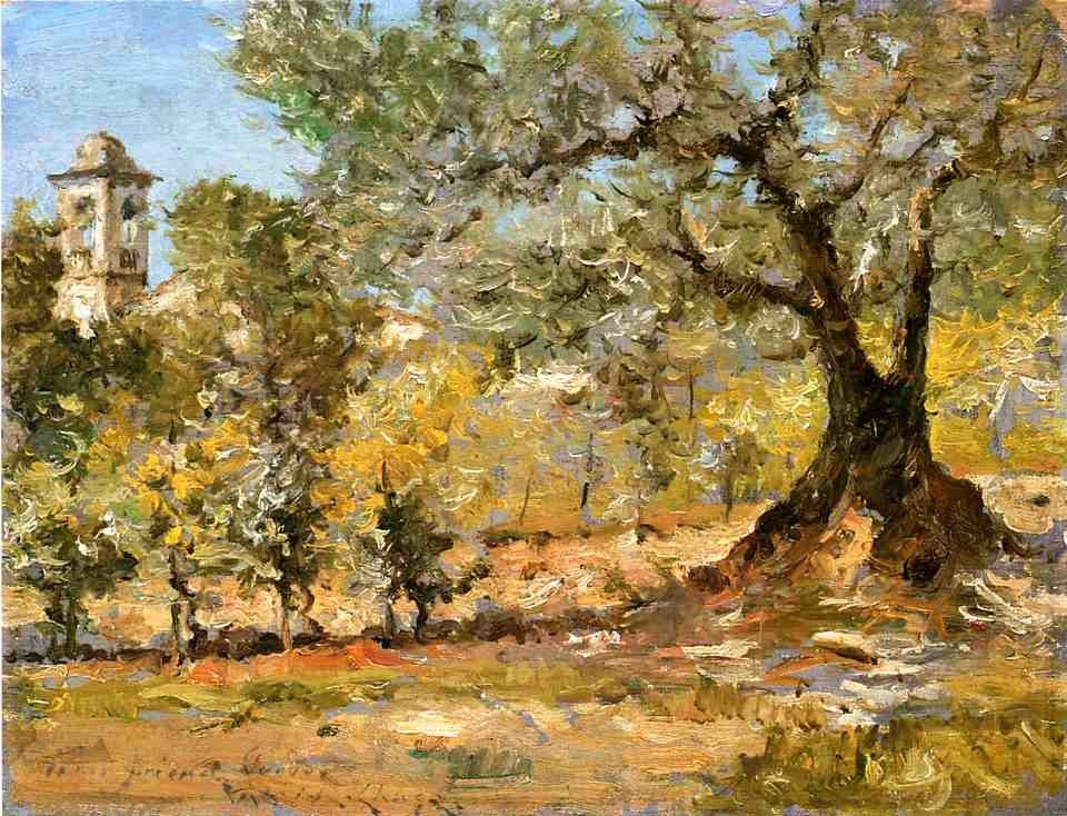 William Merritt Chase Olive Trees Florence