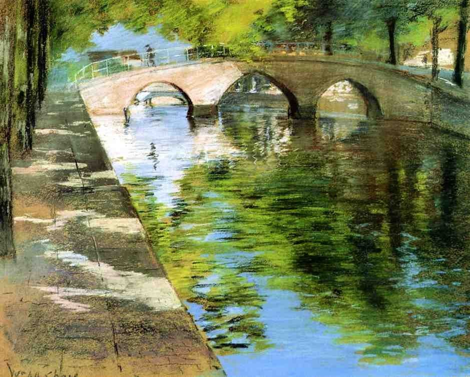 William Merritt Chase Reflections