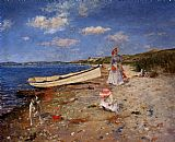 William Merritt Chase A Sunny Day at Shinnecock Bay painting